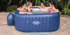 hen party hot tub