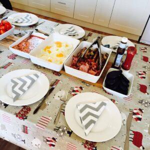 breakfast for hen party