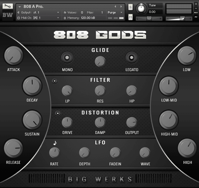 808 GODSKINGS kontakt libraries 2