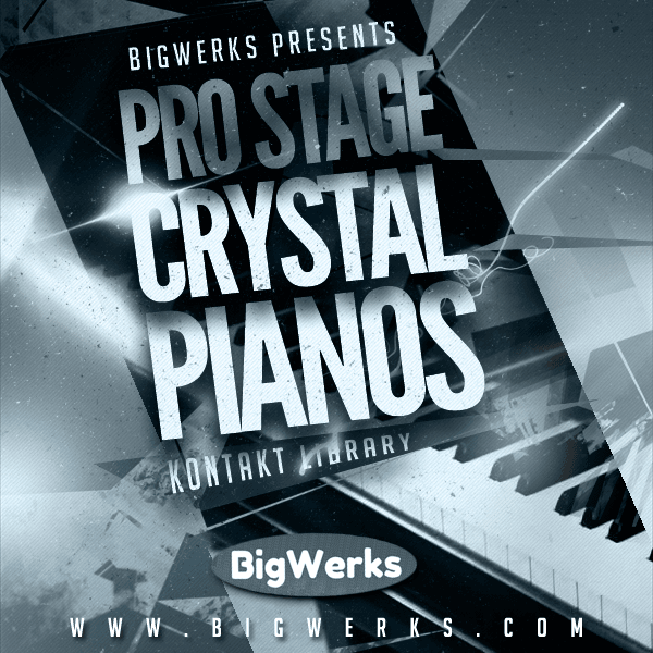 Crystal Pianos By ProStage 1