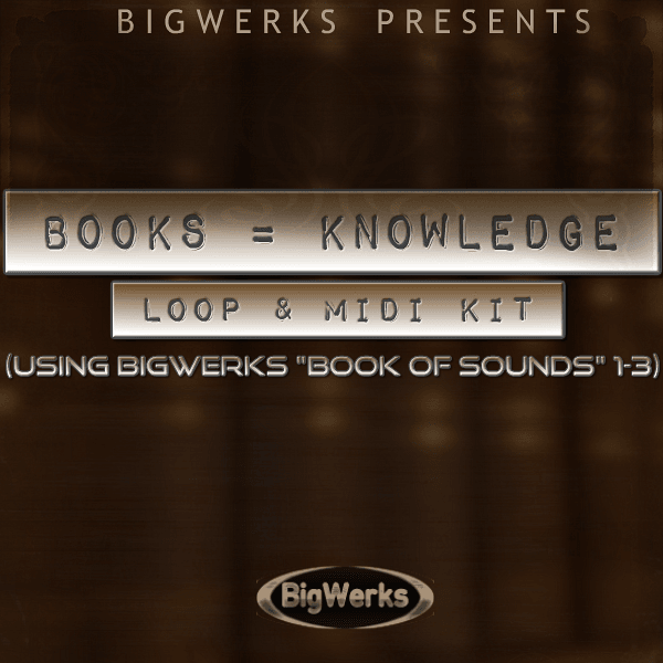 Books = Knowledge - Loop/Midi 1