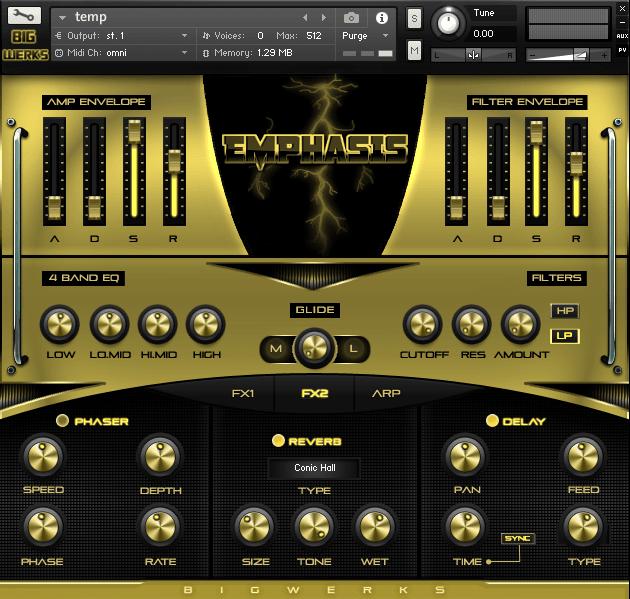 Emphasis Kontakt Library - #1 For High Quality Sounds - Trap|R&b|Hip Hop|EDM|Cinematic|VST 3