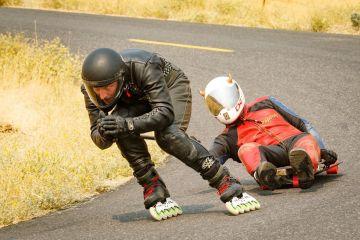 Gabe Holm downhill racing