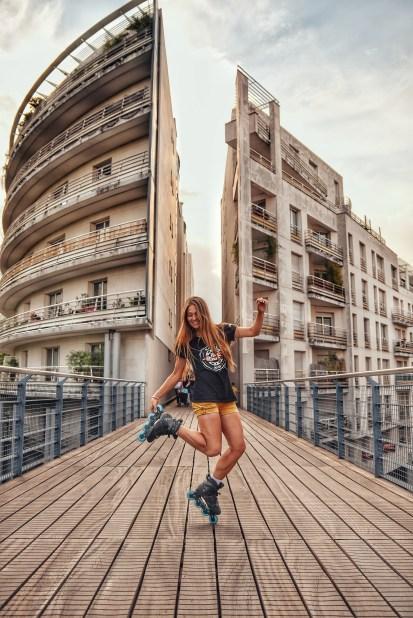 Sveta Stepanova In Paris, France.