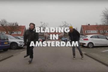 Big Wheel Blading in Amsterdam, The Netherlands