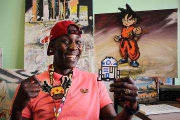 orangeobserver.com: Artist Jason Swaby Triumphs Over homelessness, Racial Discrimination