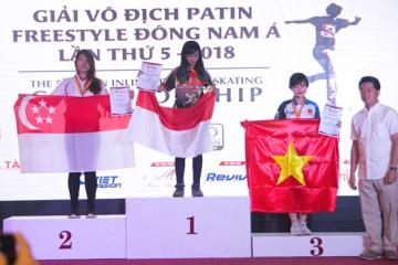 vietnamplus.vn: ASEAN Inline Freestyle Skating Championship Wraps Up