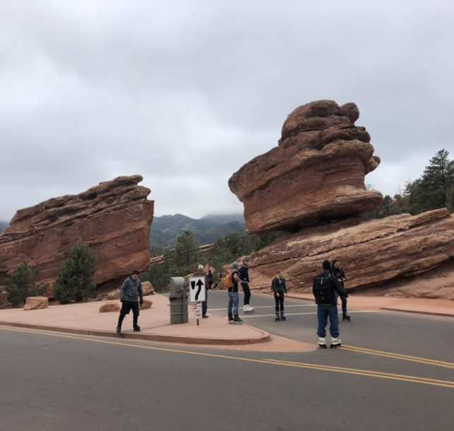DUST Takes on Motorless Morning at Garden of the Gods