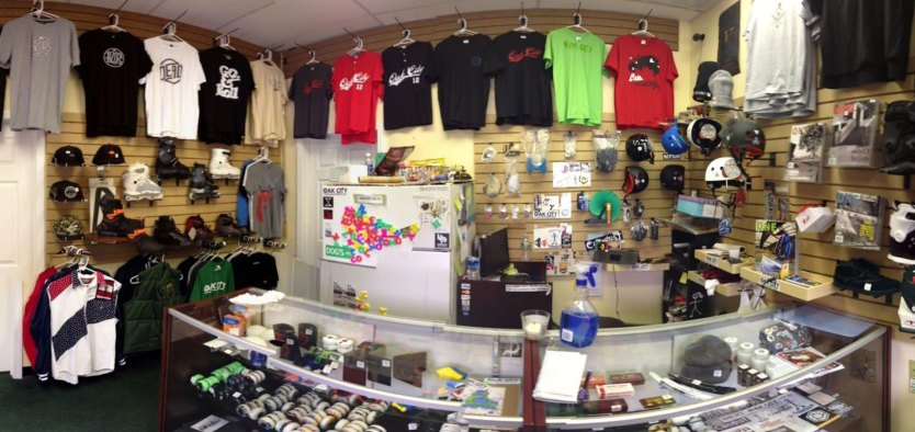 Oak City covers all of your skating needs.