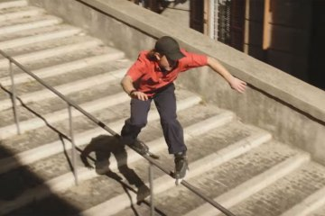Nils Jansons Roces Pro Skate Ad and Behind the Scenes Footage