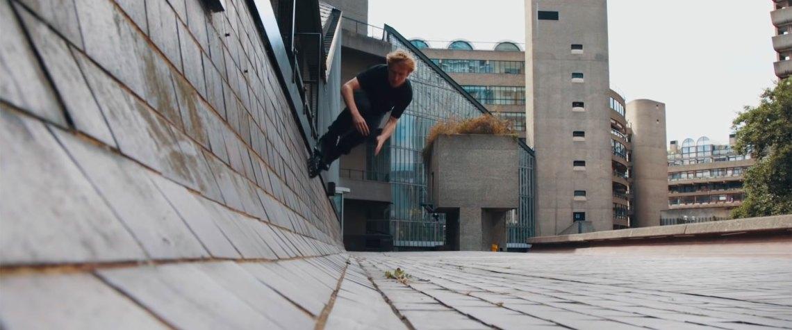 Sam Crofts Freeskating Through London