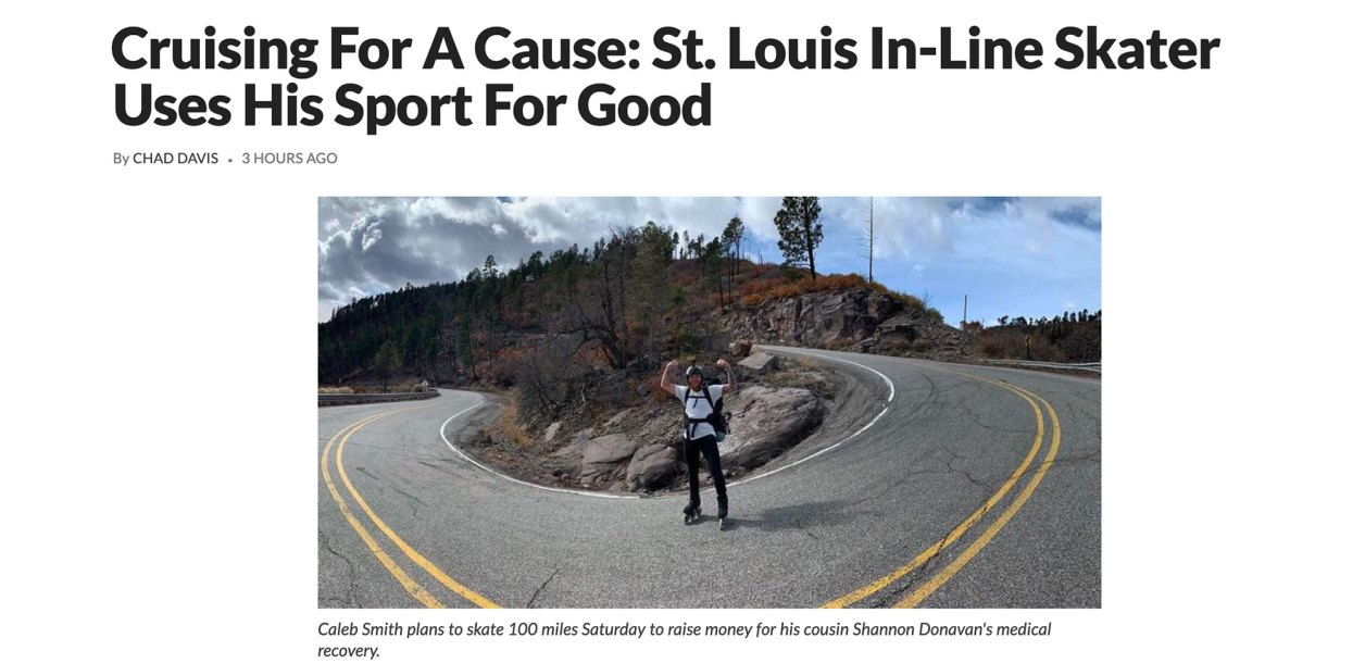 36256db3d4ee51 From the Web · Cruising For A Cause  St. Louis In-Line Skater Uses His  Sport For