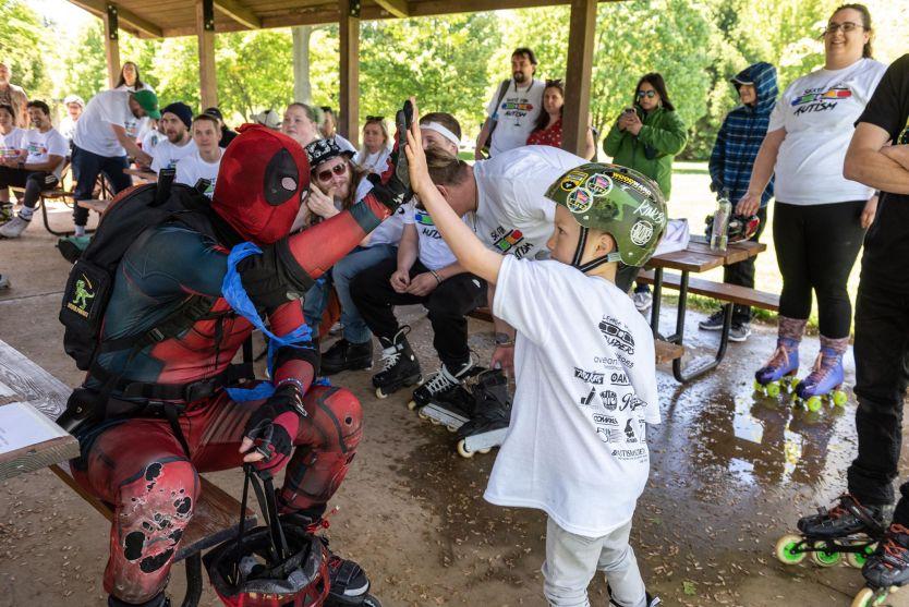Shredpool Loves the Kids