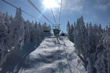 Stoked! Jan's Ski Blog [S02, Day 34] – Skiing the Freshly Groomed East Bowl at Burke Mountain in -10 Degrees