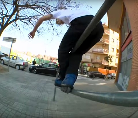 Fire – Hedonskate in Barcelona, Spain