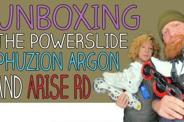 Unboxing Powerslide Phuzion Argon Cloud and Powerslide Arise RD Inline Skates