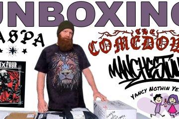 Unboxing Kaspa, 4×4, The Comedown, Manchestuhhh, Yancy's Fancy Pants