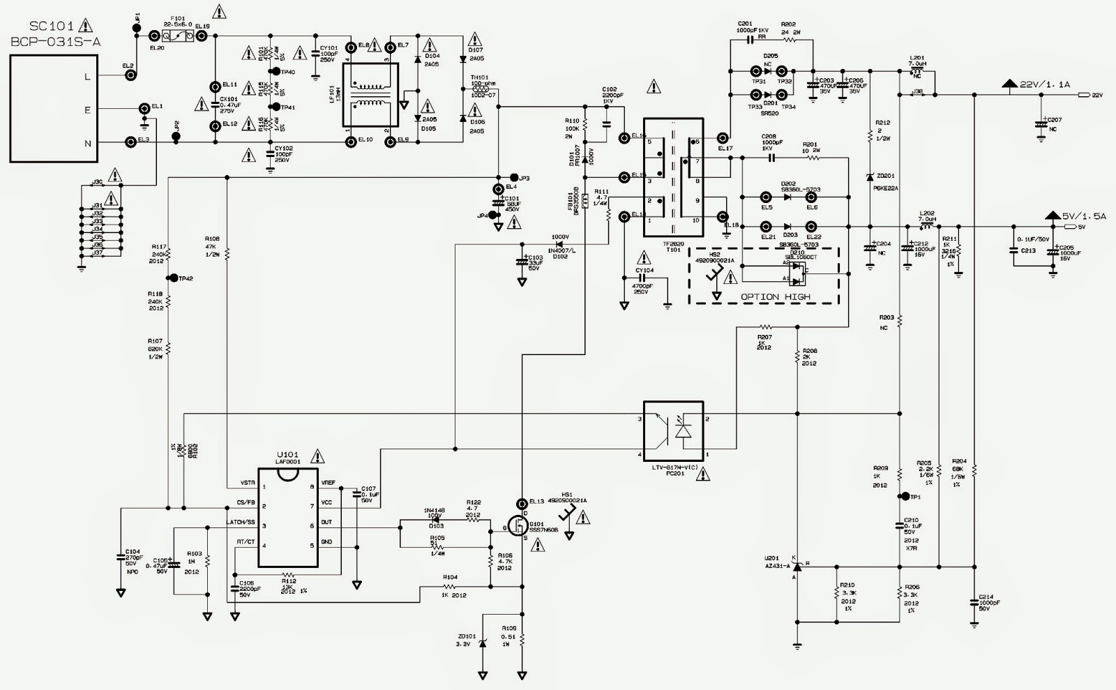 Smps Circuit Diagram With Explanation