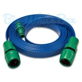 flat extension hose