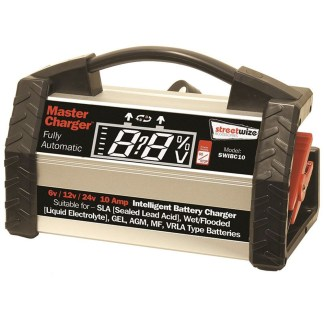 Streetwize Intelligent Fully Automatic Battery Charger SWIBC10