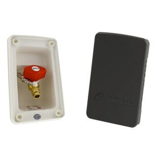 Whale BBQ Outlet With Black Cover