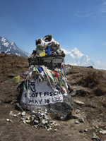 Scott Fisher's memorial, Nepal
