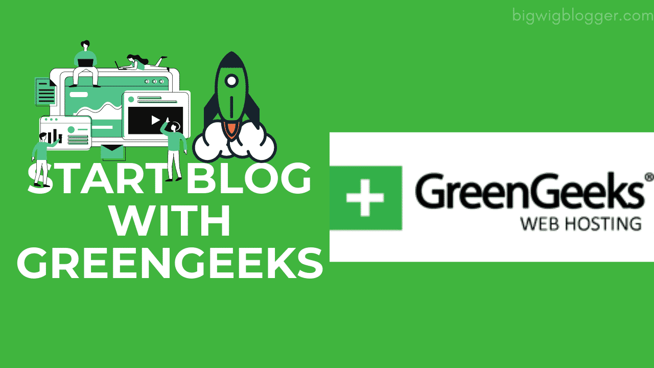 Start Blog with GreenGeeks Hosting