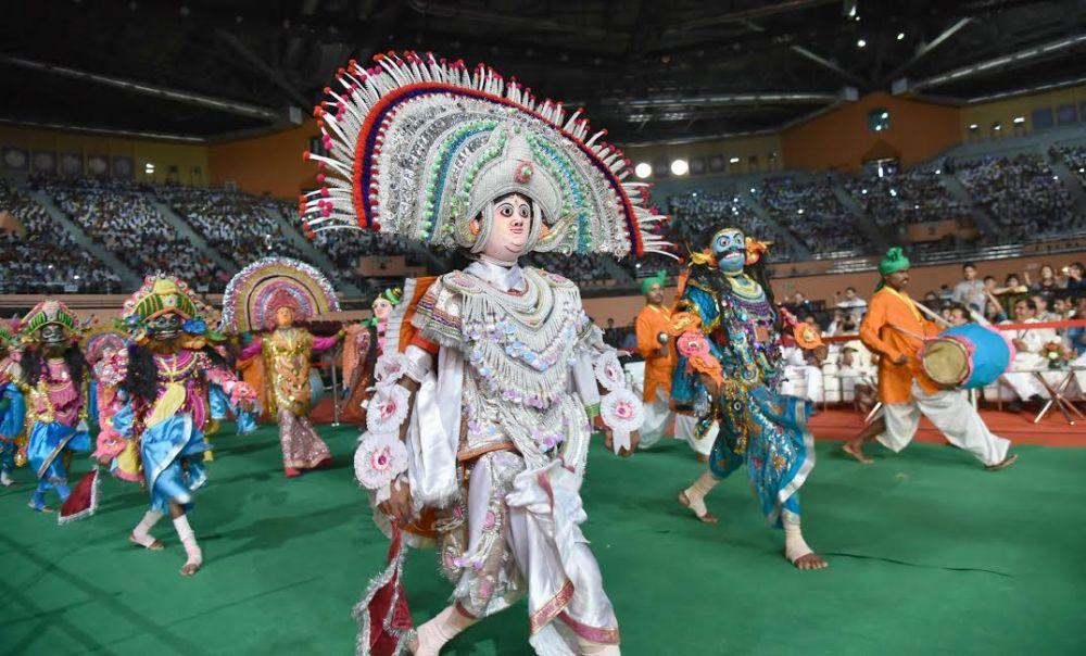 Glimpses of Carnival parade at the inauguration of the National Tribal Carnival-2016, in New Delhi on October 25, 2016.