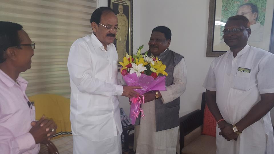 Vice President, Venkaiah Naidu