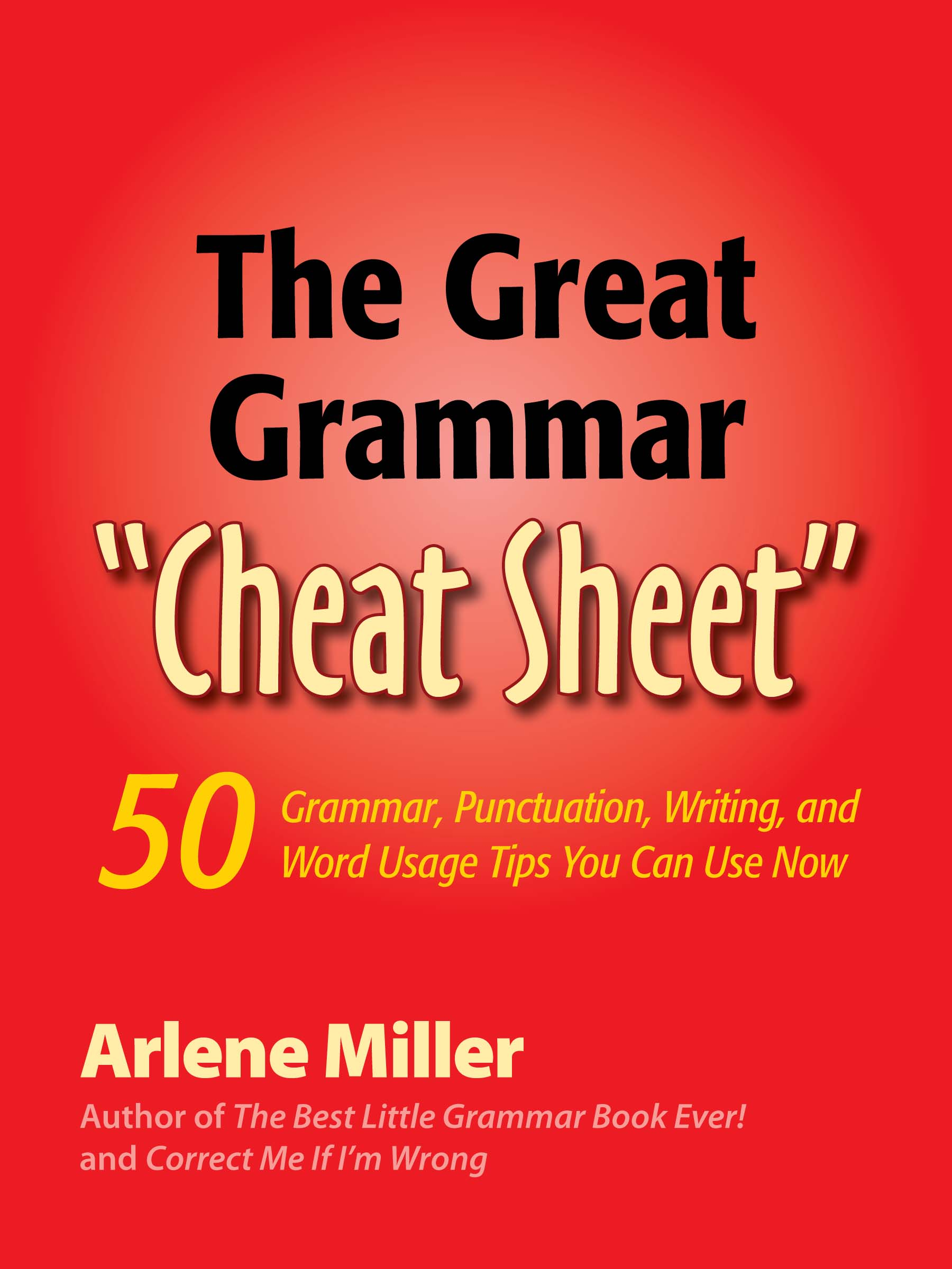 The Great Grammar Cheat Sheet