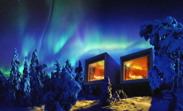 arctic treehouse finland