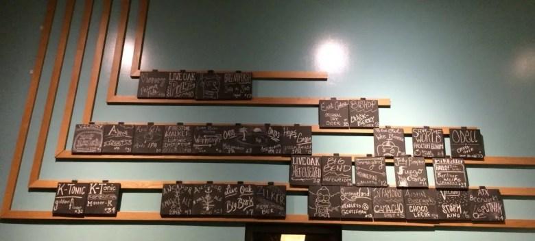 thunderbird cafe taplist