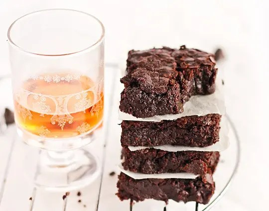bourbon brownies
