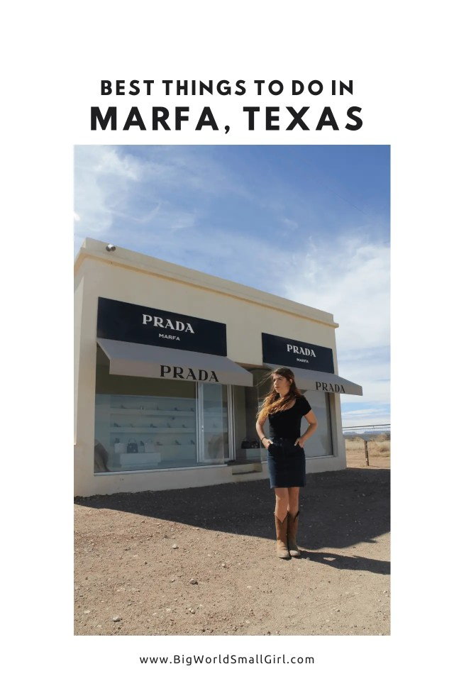 What to Do in Marfa Texas