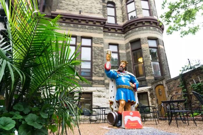 patron saint of beer