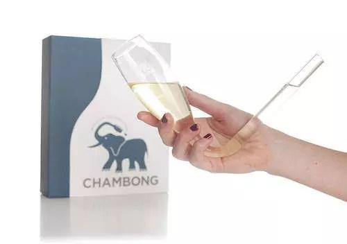 champagne bong