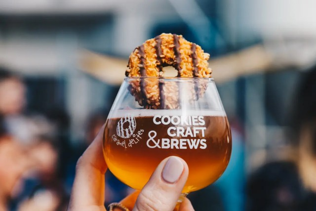 girl scout cookies beer pairings