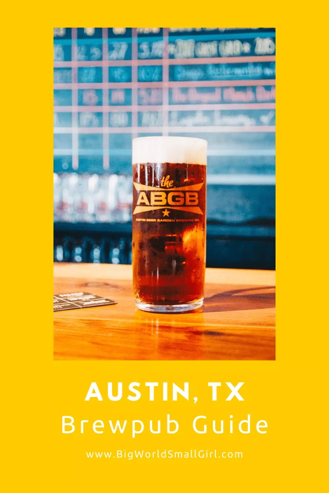 Austin Brewpub Guide