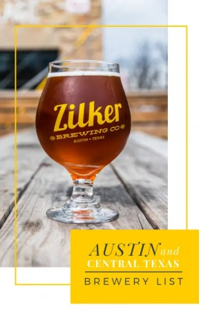 Map Of Texas Breweries.The Ultimate List Of Austin Area Breweries And Brewpubs