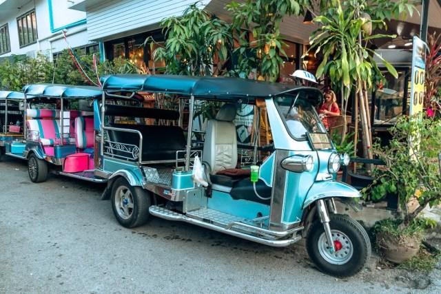 getting around chiang mai