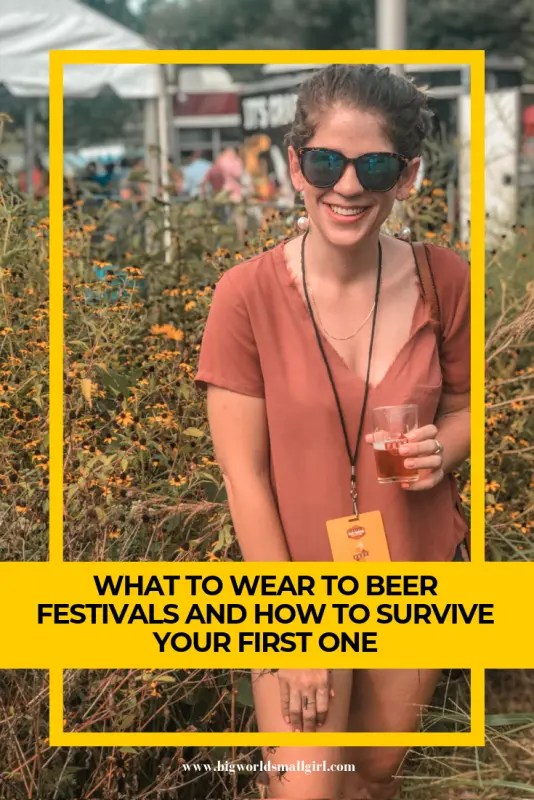 what to wear to beer festivals