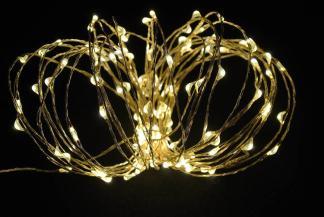 30 LED COPPER STRING LIGHT – WARM WHITE