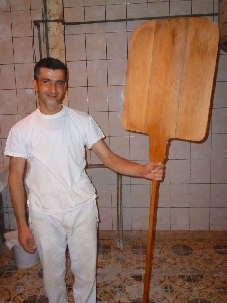 Лопата для выгрузки. Фото: Елена Арсениевич, CC BY-SA 3.0