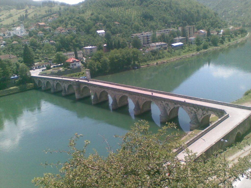 Вид на мост сверху. Фото: Ἐπαμεινώνδας, CC-BY-SA-3.0