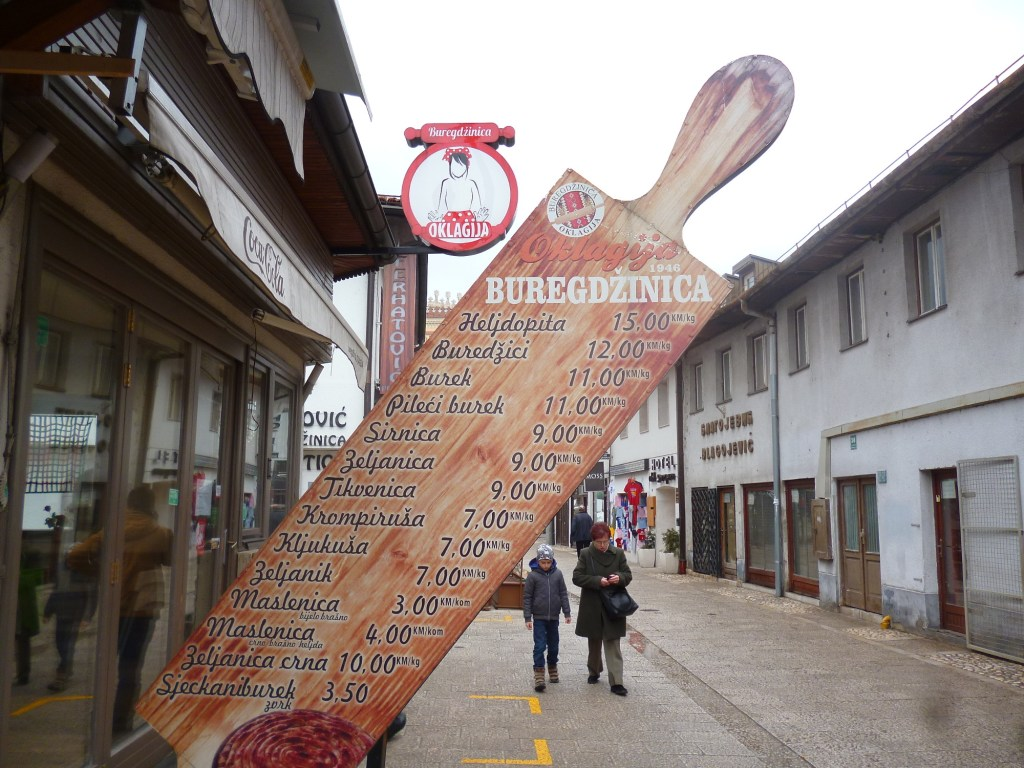 Мой фаворит «Оклагия» недалеко от Сараевской Виечницы. Фото: Елена Арсениевич, CC BY-SA 3.0