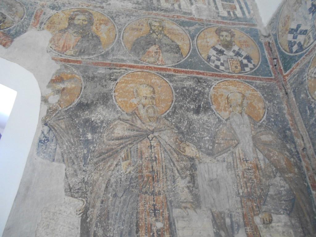 Средневековые фрески. Фото: Елена Арсениевич, CC BY-SA 3.0