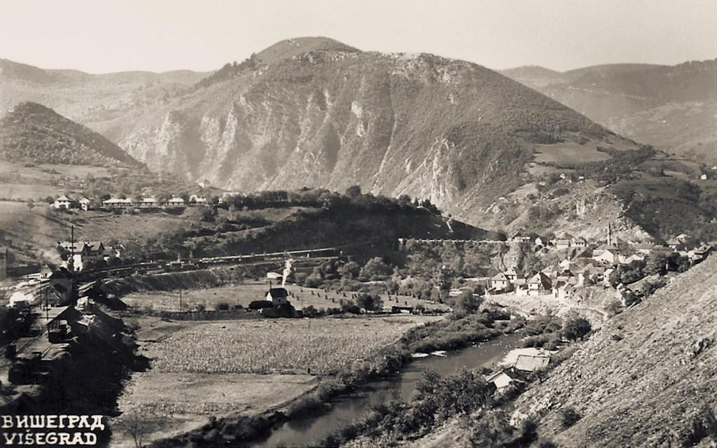Вишеград в 1930-х. Фото: автор неизвестен, public domain
