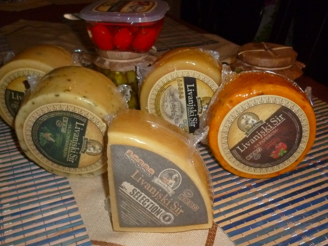 Selection самый вкусный из ливаньских сыров. Фото: Елена Арсениевич, CC BY-SA 3.0
