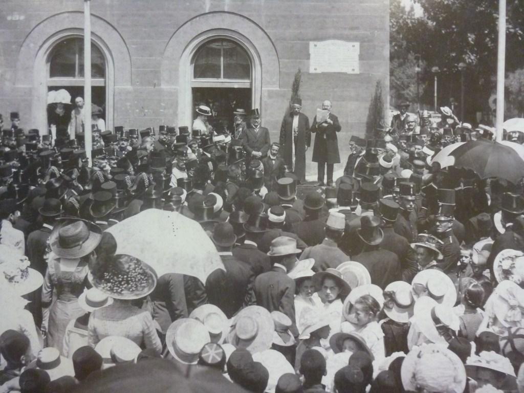 Мостарская публика в австро-венгерский период