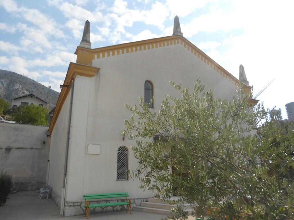 Здание мостарской синагоги